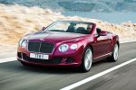 Bentley Continental GT Speed Convertible Cabriolet 6.0 W12 Twinturbo Mulliner Driving Specification Block Shifting Naim for Bentley Front Seite Ansicht