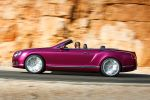 Bentley Continental GT Speed Convertible Cabriolet 6.0 W12 Twinturbo Mulliner Driving Specification Block Shifting Naim for Bentley Seite Ansicht