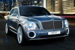 Bentley EXP 9 F Concept Performance Luxus SUV Offroad Geländewagen Allrad 6.0 W12 Twinturbo Front Seite Ansicht