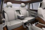 Bentley EXP 9 F Concept Performance Luxus SUV Offroad Geländewagen Allrad 6.0 W12 Twinturbo Interieur Innenraum Fond