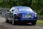Bentley Mulsanne 2014 Grand Tourer Limousine 6.75 V8 Entertainment Specification Comfort Specification UMTS WLAN Internet Luxus Heck Ansicht