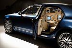 Bentley Mulsanne Executive Interior Theatre iPad Touch Sport Grand Tourer Limousine 6.75 V8 Flying B Seite Ansicht