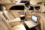 Bentley Mulsanne Executive Interior Theatre iPad Touch Sport Grand Tourer Limousine 6.75 V8 Flying B Interieur Innenraum Fond