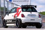CarTech Fiat 500 Abarth 1.4 T-Jet-Vierzylinder Turbo Akrapovic Heck Seite Ansicht