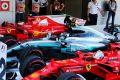 Valtteri Bottas, Sebastian Vettel und Kimi Räikkönen balgen sich um die WM-Krone
