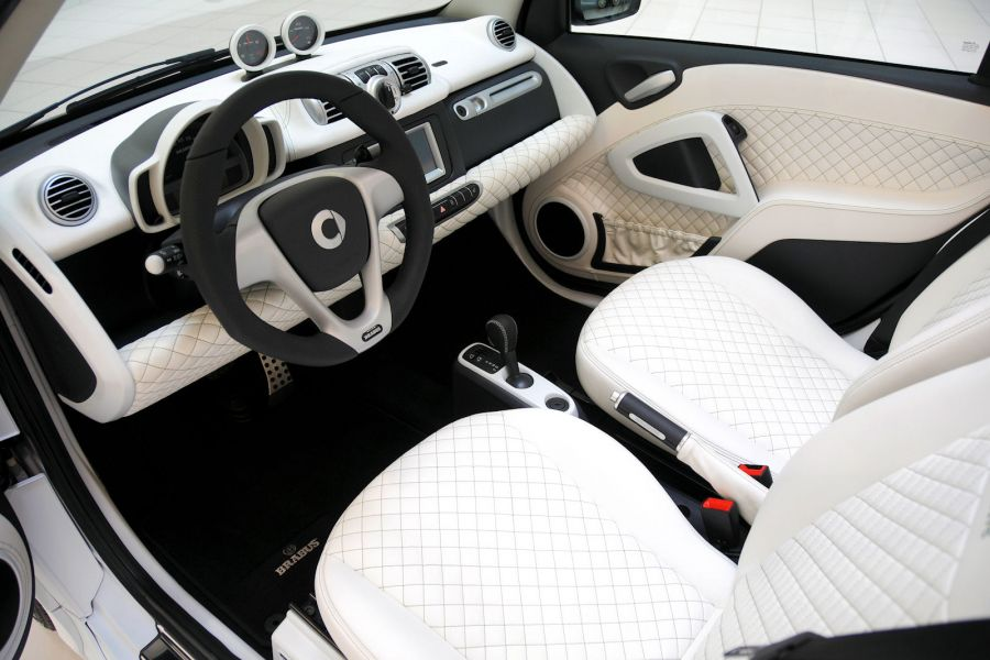 brabus ultimate electric drive kleiner smart fortwo unter hochspannung speed heads. Black Bedroom Furniture Sets. Home Design Ideas