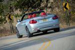 BMW 2er Cabrio 2015 F23 218d 225d Vierzylinder Diesel TwinPower Turbo Heck Seite