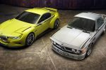 BMW 3.0 CSL Hommage 2015 Coupe Sport Leichtbau Sportwagen Reihensechszylinder eBoost Front Seite