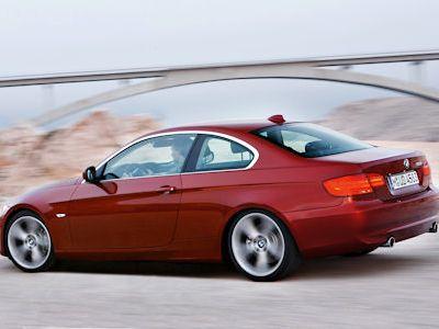 bmw 318i coupe. BMW 318i Coupé auf einen