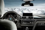 BMW 3er Mountains Edition xDrive Allradantrieb F30 M-Sportpaket BMW Individual Skigebiete Seefeld Obertauern Saalbach Hinterglemm Zillertal Ötztal Nassfeld Zugspitz Arena Skigebiet Lech Zürs Warth Schröcken Interieur Innenraum Cockpit