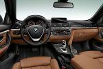 BMW 4er Cabrio Luxury Line Air Curtain Air Breather Klappdach 435i 428i 420d Reihensechszylinder Vierzylinder Active Cruise Control Active Protection Driving Assistant Interieur Innenraum Cockpit