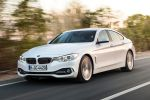 BMW 4er Gran Coupe Luxury Line Air Curtain Air Breather 435i 428i 420i 420d 418d xDrive Allrad Reihensechszylinder Vierzylinder ConnectedDrive Internet App Active Cruise Control Active Protection Driving Assistant Front Seite