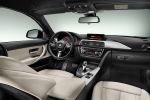 BMW 4er Gran Coupe M-Sportpaket Air Curtain Air Breather 435i 428i 420i 420d 418d xDrive Allrad Reihensechszylinder Vierzylinder ConnectedDrive Internet App Active Cruise Control Active Protection Driving Assistant Interieur Innenraum Cockpit