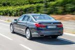BMW 750d xDrive G11 750Ld xDrive G12 Sechszylinder Diesel Quadturbo vier Allradantrieb Steptronic Automatik DDE Aufladung Luxus Limousine Heck Seite
