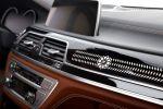 BMW 7er Solitaire Edition BMW 750Li xDrive Allrad G12 V8 TwinPower Turbo Biturbo Luxus Diamanten BMW Individual Leder Alcantara Tartufo Interieur Innenraum Cockpit