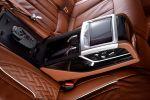 BMW 7er Solitaire Edition BMW 750Li xDrive Allrad G12 V8 TwinPower Turbo Biturbo Luxus Diamanten BMW Individual Leder Alcantara Tartufo Interieur Innenraum Rücksitze Fond
