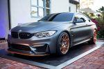 BMW Concept M4 GTS Wassereinspritzung 3.0 TwinPower Turbo Reihensechszylinder Performance Power Leistungssteigerung 666 M OLED Rückleuchten Front Seite