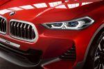 BMW Concept X2 F39 Kompakt SUV Coupe Design Studie Front