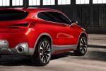 BMW Concept X2 F39 Kompakt SUV Coupe Design Studie Heck Seite