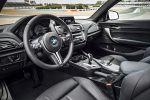 BMW M2 Coupe F87 Sportwagen Kompaktsportler 3.0 TwinPower Turbo Reihensechszylinder M DKG Doppelkupplungsgetriebe Drivelogic Connected Drive Driving Assistant Smartphone Internet App Interieur Innenraum Cockpit