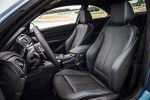 BMW M2 Coupe F87 Sportwagen Kompaktsportler 3.0 TwinPower Turbo Reihensechszylinder M DKG Doppelkupplungsgetriebe Drivelogic Connected Drive Driving Assistant Smartphone Internet App Interieur Innenraum Cockpit Sportsitze
