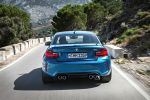 BMW M2 Coupe F87 Sportwagen Kompaktsportler 3.0 TwinPower Turbo Reihensechszylinder M DKG Doppelkupplungsgetriebe Drivelogic Connected Drive Driving Assistant Smartphone Internet App Heck