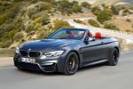 BMW M4 Cabrio F83 2014 Performance Sportwagen Sportler 3.0 TwinPower Turbo Reihensechszylinder Air Curtain Air Breather Carbon Drivers Package Launch Control Smokey Burnout Stability Clutch Control DSC Laptimer App Driving Assistant Plus Connected Drive Front Seite