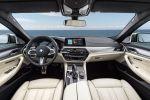 BMW M550i xDrive G30 5er 2017 v8 Twinturbo Biturbo Twinscroll Turbolader Allradantrieb Sportfahrwerk BMW Connected Infotainment Smartphone App Fahrassistenten Fahrerassistenzsysteme Interieur Innenraum Cockpit