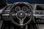 BMW M6 M Performance Coupe 6er 4.4 V8 TwinPower Turbo Biturbo Akrapovic Aerodynamik Carbon Race Display Lenkrad Interieur Innenraum Cockpit