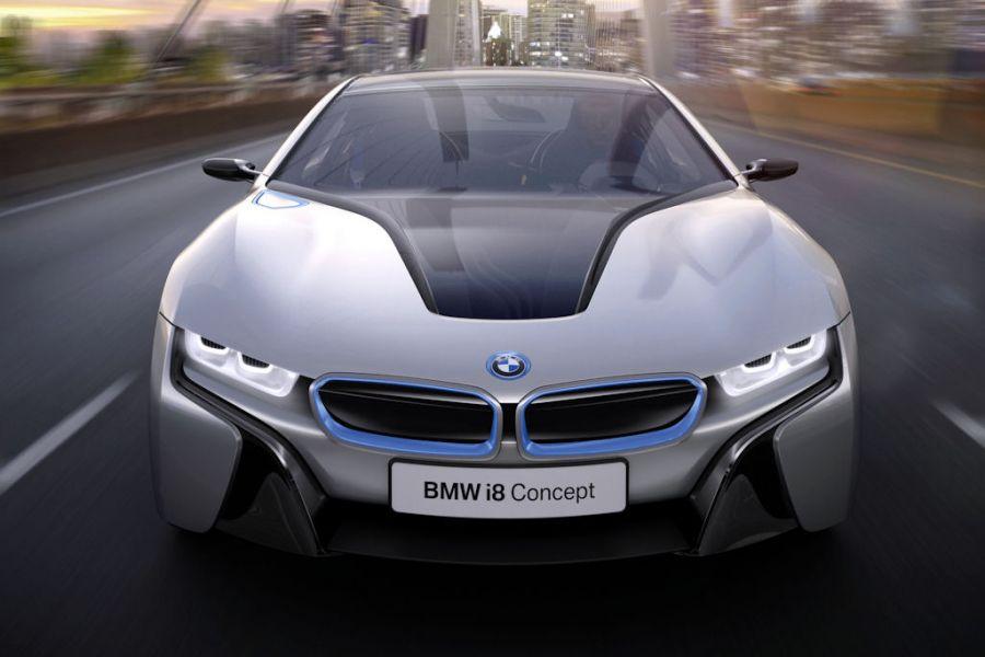 Bmw I8 Concept Der Vorbote Einer Elektrisierten Sportwagen