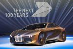 BMW Vision Next 100 Concept Car Technologie Studie Alive Geometry Rapid Prototyping Rapid Manufacturing Ultimate Driver autonomes Auto Boost Modus Ease Modus Companion Zukunft Front Seite