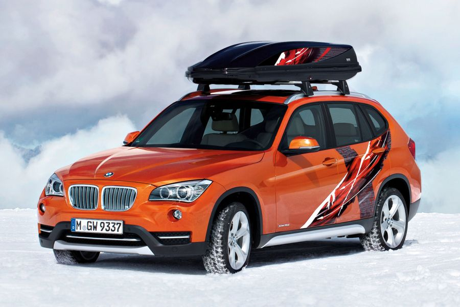 bmw x1 edition powder ride der perfekte begleiter f r die. Black Bedroom Furniture Sets. Home Design Ideas
