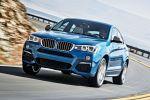 BMW X4 m40i F26 M Performance Sportversion SUV Coupe Reihensechszylinder TwinPower Turbo Benziner xDrive Allrad ConnectedDrive Services Front Seite