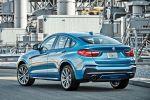 BMW X4 m40i F26 M Performance Sportversion SUV Coupe Reihensechszylinder TwinPower Turbo Benziner xDrive Allrad ConnectedDrive Services Heck Seite