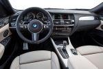 BMW X4 m40i F26 M Performance Sportversion SUV Coupe Reihensechszylinder TwinPower Turbo Benziner xDrive Allrad ConnectedDrive Services Interieur Innenraum Cockpit