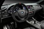 BMW X4 M Performance Parts xDrive20i xDrive28i xDrive35i xDrive20d xDrive30d xDrive35d TwinPower Turbo Sport Track Carbon Drive Analyser Smartphone Interieur Innenraum Cockpit