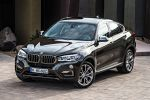 BMW X6 F16 2015 Crossover SUV Coupe Twin Power Turbo Benziner Diesel Steptronic V8 xDrive50i xDrive35i xDrive30d xDrive40d Reihensechszylinder Servotronic Fahrerlebnisschalter Sport Comfort Eco Pro iDrive Control Display Dynamic Performance Control BMW Connected Drive Apps Smartphone Internet Online Fahrerassistenzsystem Fahrerassistent Night Vision Driving Assistent Plus Surround View Front Seite