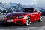BMW Zagato Coupe Z4 Double Bubble Doppia Gobba Criss Cross Coda Tronca Front Seite Ansicht