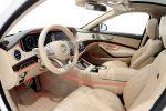 Brabus 900 Rocket Mercedes-Benz S 65 AMG S-Klasse W222 Limousine V12 Biturbo Zwölfzylinder Tuning Leistungssteigerung Aerodynamik Kit Carbon Airmativ Sport Unit Monoblock Platinum Edition Räder Felgen iBusiness Apple Multimedia Interieur Innenraum Cockpit