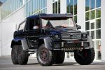 Brabus B63S 700 6x6 Mercedes-Benz GL 63 AMG V8 Biturbo Offroad Geländewagen Pickup Monster AMG Speedshift 7G Tronic Front Seite