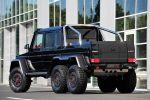 Brabus B63S 700 6x6 Mercedes-Benz GL 63 AMG V8 Biturbo Offroad Geländewagen Pickup Monster AMG Speedshift 7G Tronic Heck Seite