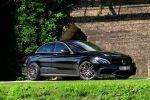 Brabus Mercedes-AMG C 63 S w205 PowerXtra B40 4.0 V8 Biturbo Tuning Leistungssteigerung Auspuffanlage Abgasanlage Monoblock Räder Felgen Front Seite