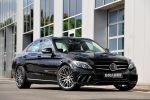 Brabus Mercedes-Benz C-Klasse W205 Limousine Bodykit Aerodynamik Kit PowerXzta Monoblock Leistungssteigerung Front Seite