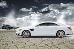 Brabus Mercedes-Benz CLS 63 AMG Coupe 5.5 V8 B63S 730 Monoblock R Platinum Edition Seite Ansicht
