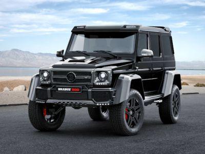 Brabus Mercedes-Benz G 500 4x4 Geländewagen Offroader 4.0 V8 Biturbo Beadlock Tuning Leistungsseigerung Portalachsen