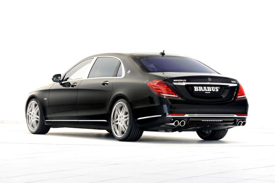 brabus mercedes maybach s klasse heftige luxus rakete mit 900 ps speed heads. Black Bedroom Furniture Sets. Home Design Ideas