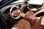 Brabus Maybach Mercedes S-Klasse S 600 Luxus Limousine V12 Tuning Interieur Innenraum Cockpit