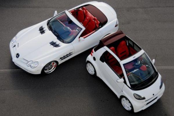 brabus mercedes slr mclaren roadster mit ultimativem beiboot - speed