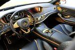 Brabus Rocket 900 Desert Gold Edition Mercedes-AMG S 65 S-Klasse W222 Limousine V12 Biturbo Zwölfzylinder Tuning Leistungssteigerung Interieur Innenraum Cockpit