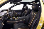 Brabus Rocket 900 Desert Gold Edition Mercedes-AMG S 65 S-Klasse W222 Limousine V12 Biturbo Zwölfzylinder Tuning Leistungssteigerung Interieur Innenraum Cockpit Sitze